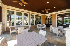 Apartments For Rent in Katy, TX - Outdoor Covered Seating with Tables